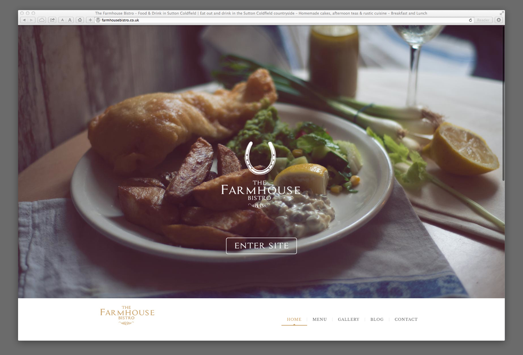 Farmhouse Bistro - Website