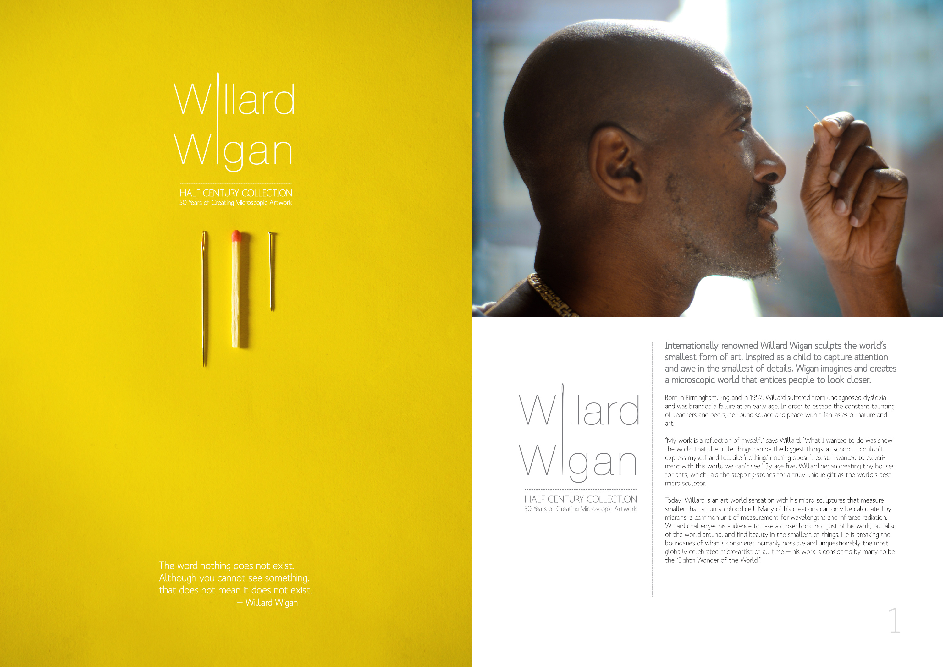 Willard Wigan - Exhibition Booklet