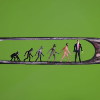 Willard Wigan - Evolution in the Eye of a Needle