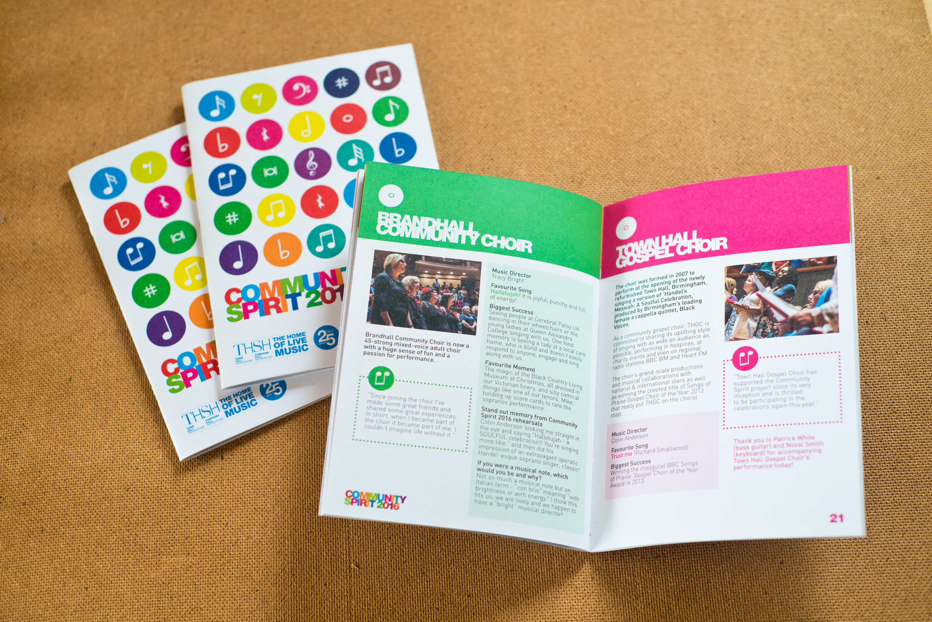 Symphony Hall - Community Spirit Booklet